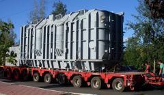 Транспортировка  трансформаторов