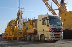 Транспортировка негабаритных грузов по территории Украины, Европы, СНГ