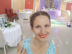 Тамада на свадьбу в Донецке, ведущая, артистка шоу мыльных пузырей