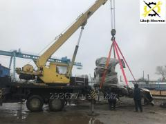 Такелаж, монтаж/демонтаж промышленного оборудования