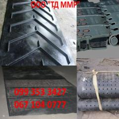 Изготовление шевронных конвейерных транспортерных лент при помощи холодной и горячей вулканизации