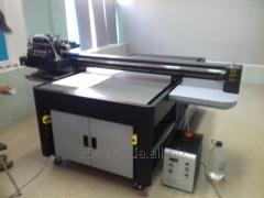 УФ печать с разрешением 1440*2880 dpi, планшетная