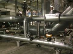 Теплоизоляция трубопроводов, емкостей и инжинерных магистралей.