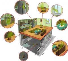 Удаление,  устранение, избавление от запаха в помещениях. Озонирование