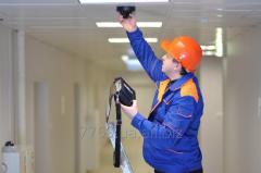 Монтаж системы пожарной сигнализации