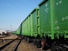 Международные перевозки грузов ж/д транспортом