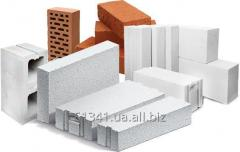 Исследование стеновых материалов: керамический и силикатный кирпич и камни, газобетон, пенобетон, железобетон, пенополистиролбетон, арболит и.т.д.