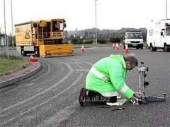 Исследования основ и покрытий автомобильных дорог (асфальтобетонных, цементобетонных)