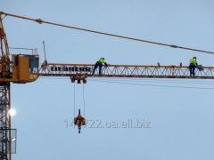 Замена грузового троса башенного крана