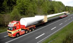 Перевозка ветровых электростанций