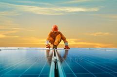 Солнечная электростанция. Проектирование, подбор оборудования, монтаж, подключение Зеленого тарифа, сервисное обслуживание