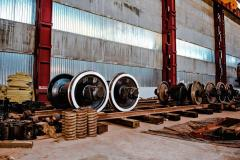 Снятие и установка колесных пар тепловозов. Ремонт .