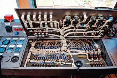 Ремонт электрооборудования тепловоза. При КР-1 совершаем ревизию и замену до 10% низковольтной проводки. Полная замена проводится при КР-2