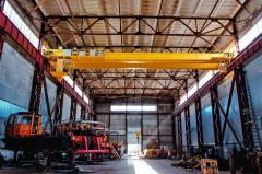 Ремонт грузоподъемного оборудования: опорно-поворотной колонны, механизма подъема груза, гидроцилиндров, поворотной площадки, грузоподъемного крана и аутригеров
