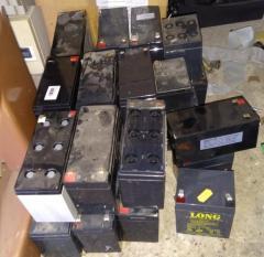 Прием и утилизация аккумуляторов киев