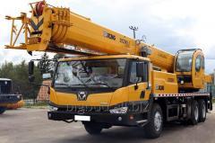 Услуги Автокрана XCMG QY25 K5 (25т, 47 м)