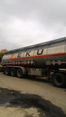 Вантажні перевезення нафтопродуктів по Україні - 22 грн./км.