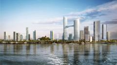 Строительство суперсовременных жилых кварталов, небоскребов, высотных зданий.