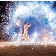 Огненно-пиротехническое шоу на новый год в Черкассах !