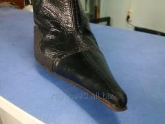 Изменение формы носка обуви