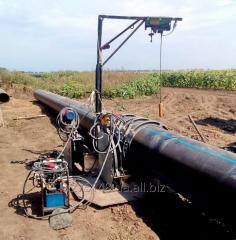 Монтаж полиэтиленовой трубы   по всей территории
