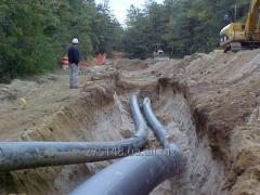 Монтаж  полиэтиленовыхтрубопроводов    для полива и орошения   сельхозназначения
