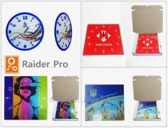 УФ-печать на пленке,пластике,акриле,ПВХ,МДФ,стекле,холсте,баннере