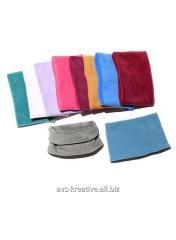 Баффы, шапки, шарфы, варежки пошив