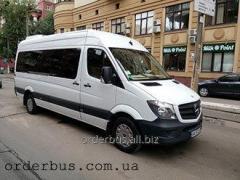 Аренда автобусов Мерседес Спринтер