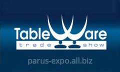 ХХIV международная выставка посуды TableWare, приглашает в Киев!