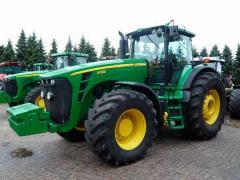 Аренда тракторов, услуги по обработке грунта