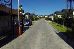 Construction of cottage developments and