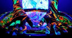 Флуоресцентная роспись интерьера