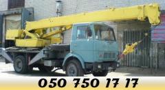 Автокран КС-3577 услуги, аренда