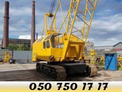 Гусеничный кран РДК-25 (25 тонн) услуги, аренда