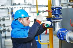 Installation of a refrigerating machinery