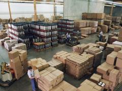 Организация и осуществление складских переездов