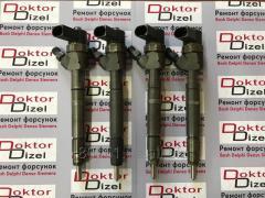 Ремонт (реставрация),проверка,регулировка и чистка форсунок системы Common Rail Bosch