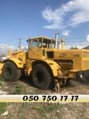 Трактор К-701 с тралом негабарит услуги, аренда Николаев
