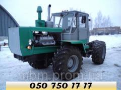 Трактор Т-150к с тралом негабарит услуги, аренда
