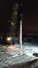 Погружение свай под ветряные электростанции г. Краматорск Украина