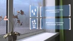 Установка Приточных Клапанов воздуха на окна