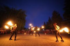 Фаер шоу(огненное шоу) в Мариуполе!