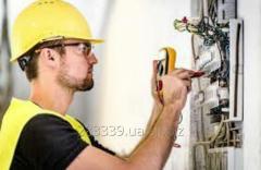 Электрик в строительную компанию