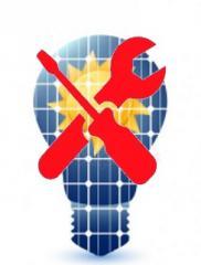 Техническое обслуживание солнечных электростанций