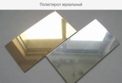 Фрезерная порезка, фрезеровка зеркального полистирола на ЧПУ