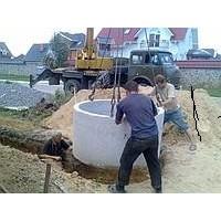 Строительство Железобетонных колодцев для канализации