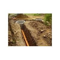 Выкопать колодец для канализации