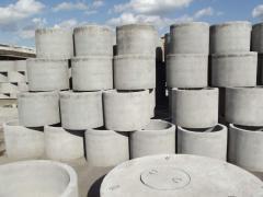 Устройство канализации на даче  из бетонных колец