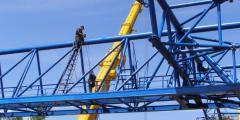 Капитальный ремонт кранов и подъёмников